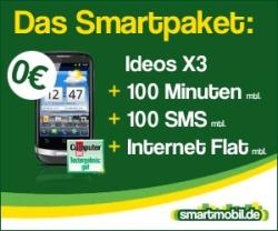 Smartmobil Huawei Ideos X3
